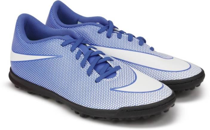 Nike BRAVATAX II TF Football Shoes For Men - Buy RACER BLUE WHITE ... 9935bc0006e9