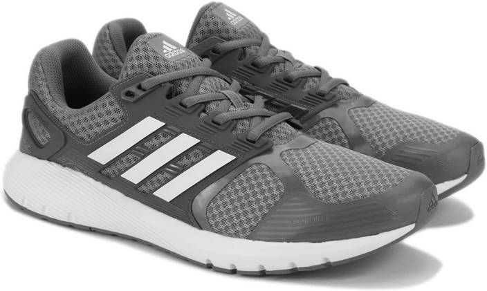 huge discount 1584a 110fc ADIDAS DURAMO 8 M Running Shoes For Men (Grey)