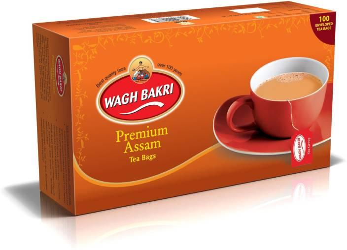 Waghbakri Premium Assam Tea bags - 200 gm Black Tea Bags