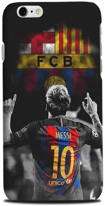 ea3cf9c3f6f Incredible Back Cover for Lionel Messi, Barcelona Football Club, Apple  iPhone 6 (Multicolor, Waterproof, Plastic)