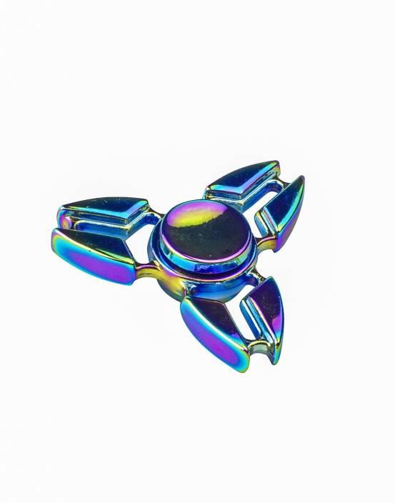 Sirius Toys Tri Hand Rainbow Metal Fidget Spinner