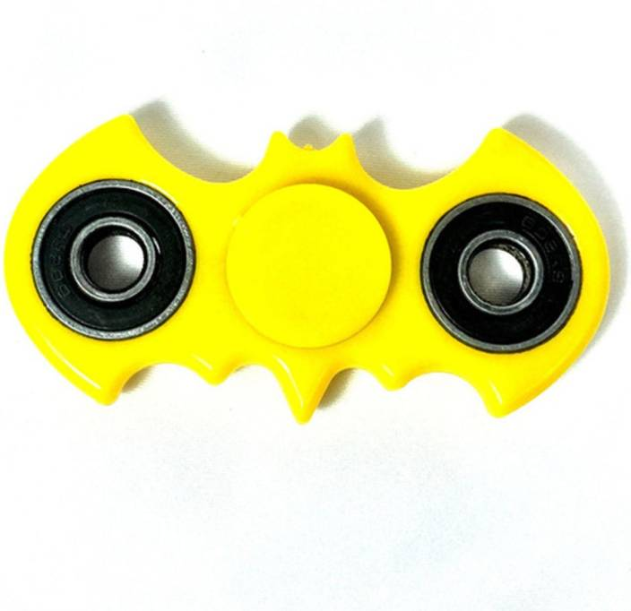 Saffire Yellow Batman Style Fidget Bat Fidget Hand Spinner