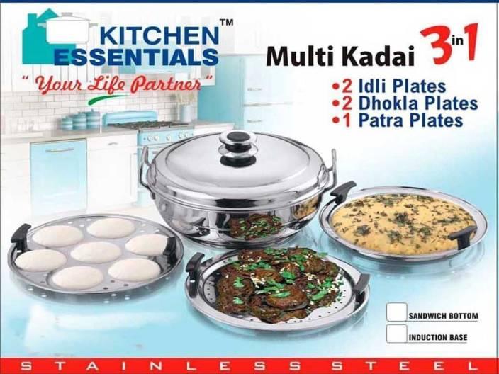 Kitchen Essentials Induction Base Stainless Steel Steamer