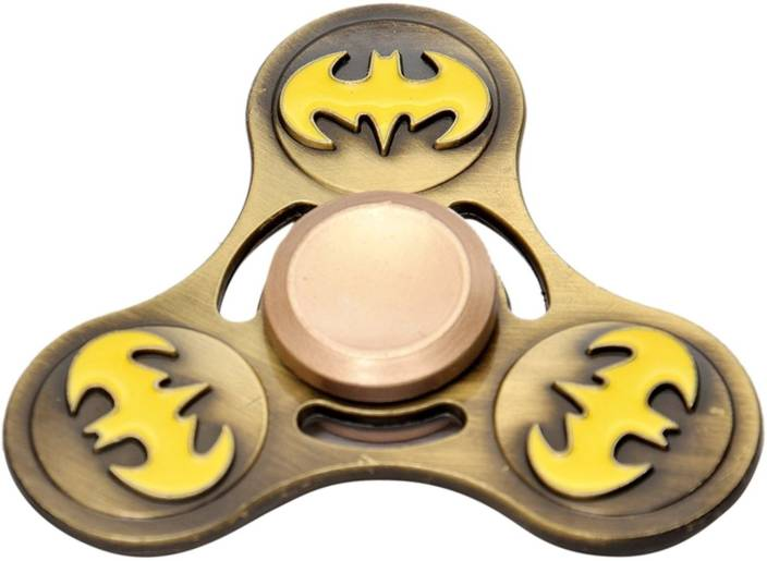 Plutofit Batman Fidget Spinner Metal Alloy with Long Lasting Smooth Spin