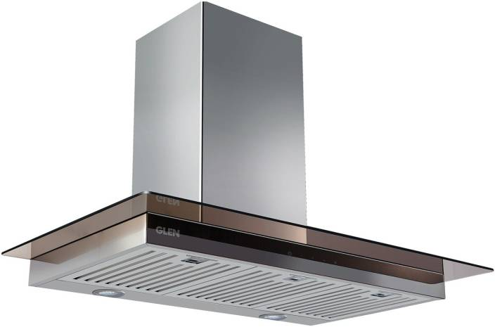 GLEN Kitchen Chimney GL 6062 SX TS 60cm 750m3 Touch Control Baffle Filter Wall Mounted Chimney