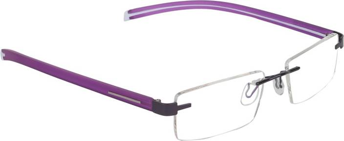 eece1b5a649 Zyaden Rimless Rectangle Frame Price in India - Buy Zyaden Rimless ...