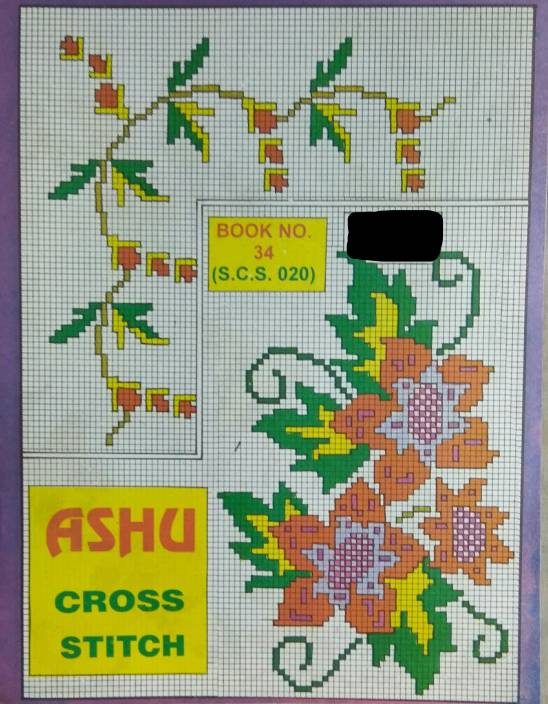 Cross Stitch Design Book Only Designs Set Of 10 Different Books