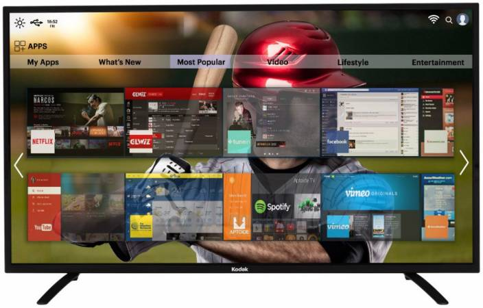 Kodak 140cm (55 inch) Full HD LED Smart TV
