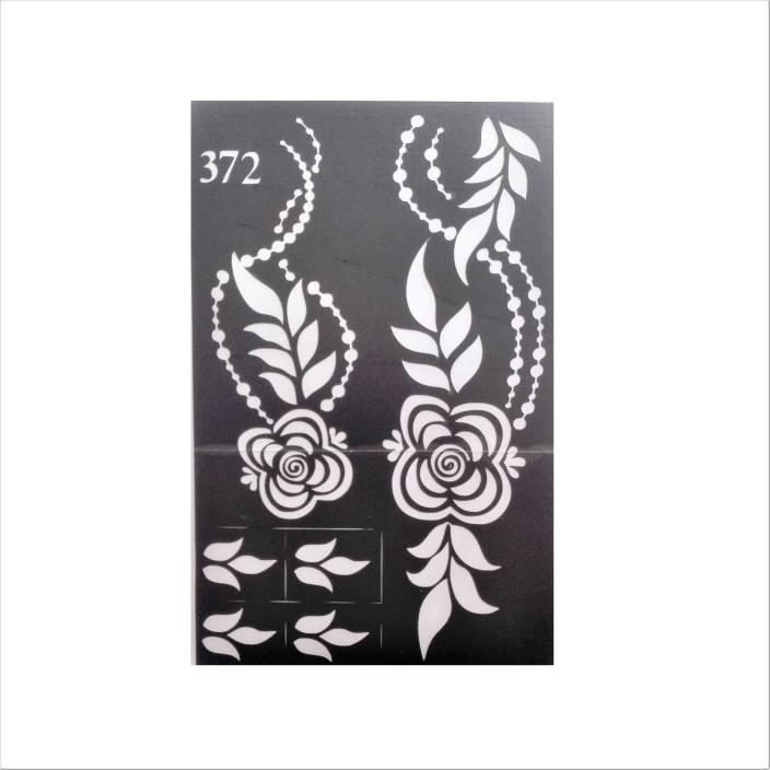 Arr Henna Stencils Stickers Price In India Buy Arr Henna Stencils