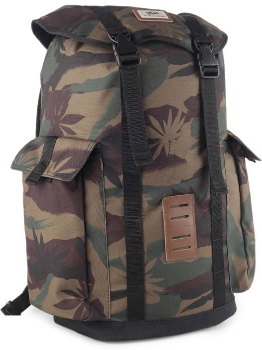 0bec23416e6d14 Vans OFF THE WALL BACKPACK 30 L Backpack PEACE LEAF CAMO - Price in ...