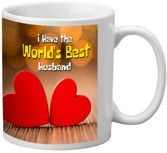 Hubby Wifey Mugs Worlds Best Husband Mug With Awesome Quotes