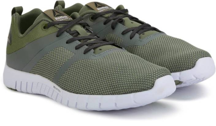 3aa072127bbbd0 REEBOK ZQUICK LITE 2.0 Running Shoes For Men - Buy GREEN GREY COAL ...