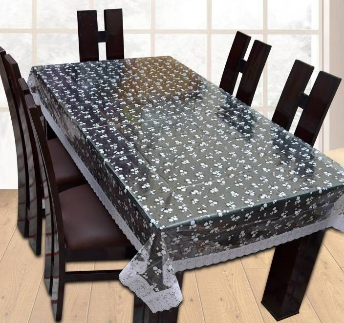 Yellow Weaves Abstract 6 Seater Table Cover