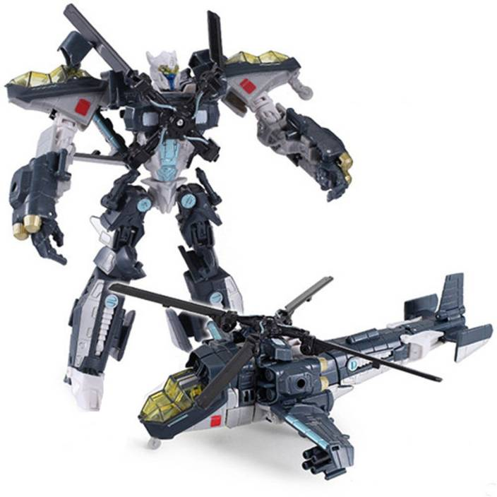 Kiditos Transformers Sky Hammer Robot To Helicopter Converting