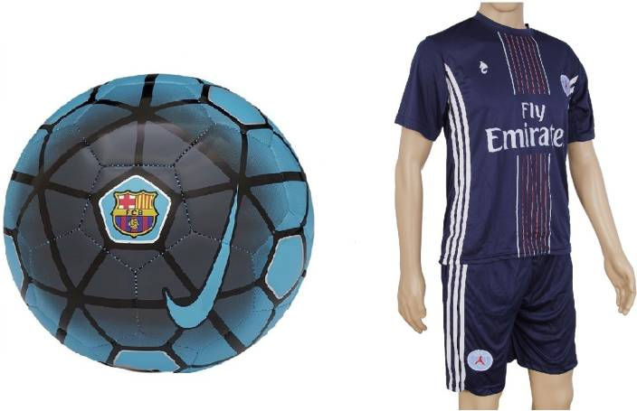 7d61de4fba8 Retail World FCB Blue Ball with Suit (Jersey + Shorts) Football Kit - Buy  Retail World FCB Blue Ball with Suit (Jersey + Shorts) Football Kit Online  at Best ...