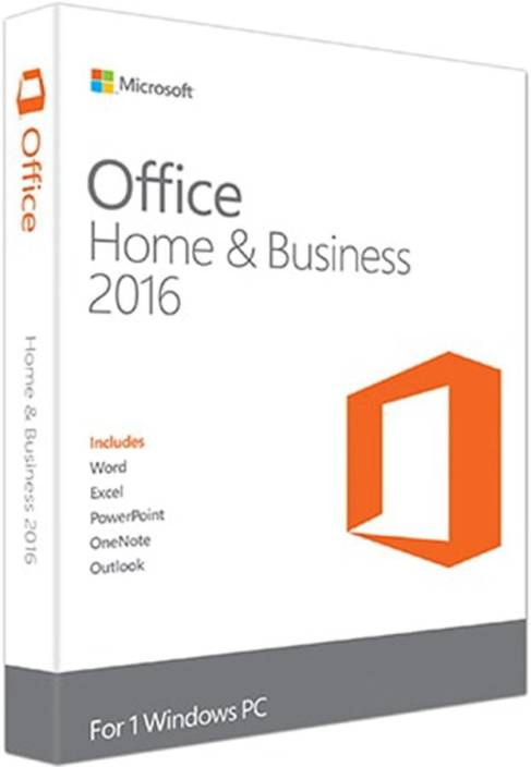 microsoft office 2016 p2 retail home and business