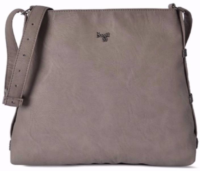 Baggit Women Grey Pu Sling Bag