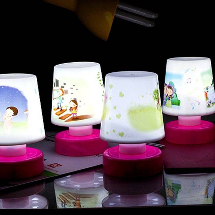 Jamboree Gifts Online Kids LED Night Lamp Birthday Return Gift Pack Of 4