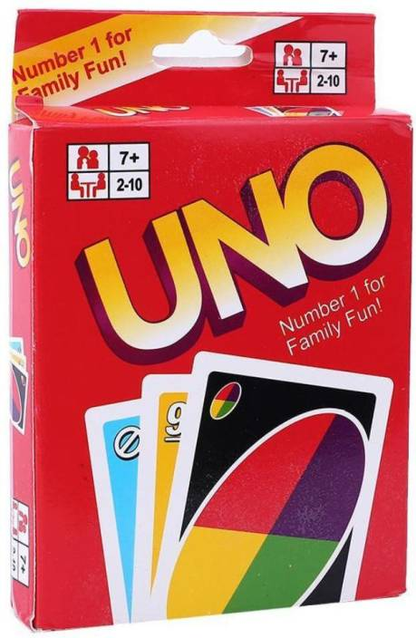 Memore Uno Game Card (Pack of 1)