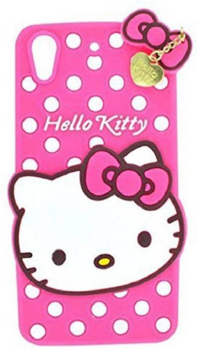 Alac Back Cover for OPPO A37f, Oppo A37 (hello kitty back cover,pink, Rubber)
