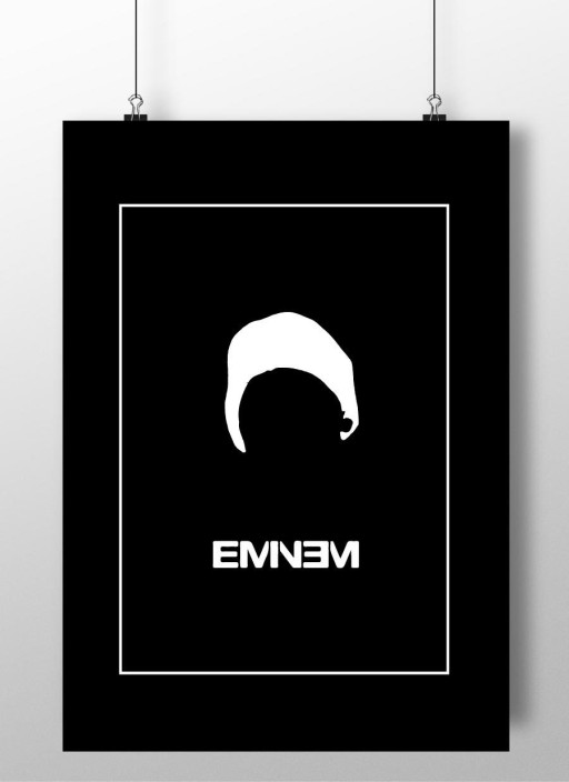 EMINEM A3 SIZE POSTER USA RAPPER MUSIC  WALL PICTURE PRINT