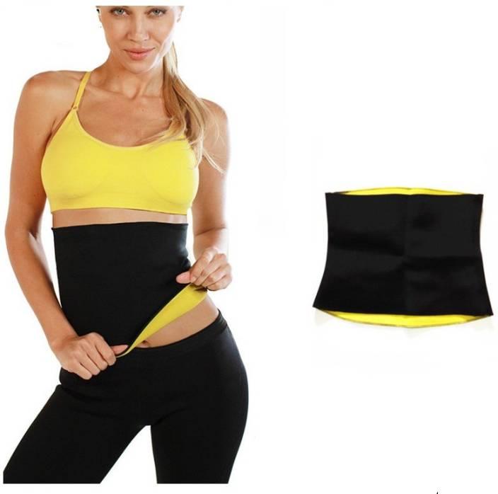 d86e39e8288 Blooming India Excutive Unisex Hot Slim Fit Shaper Belt Slimming Belt  (Black)