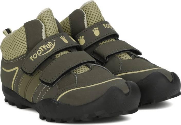 Footfun by Liberty Boys & Girls Velcro Casual Boots