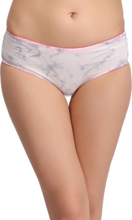 Clovia Women's Hipster, Brief White Panty