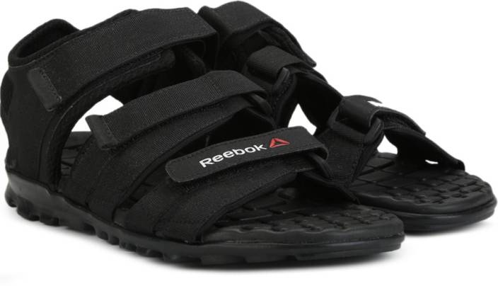 13a5af1b0 REEBOK Men BLACK Sports Sandals - Buy BLACK Color REEBOK Men BLACK Sports Sandals  Online at Best Price - Shop Online for Footwears in India