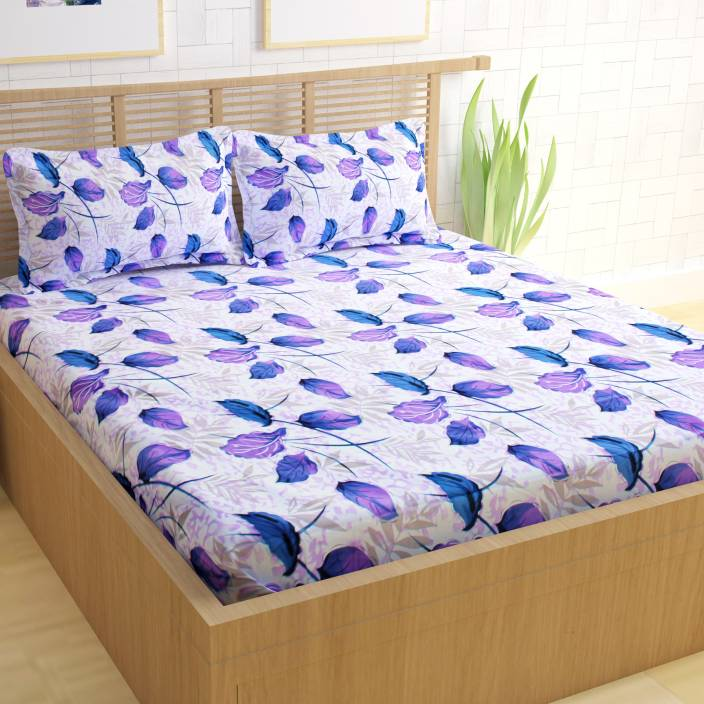faf6ab19c78 CURL UP 104 TC Cotton Double Printed Bedsheet - Buy CURL UP 104 TC ...
