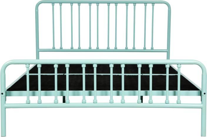 FurnitureKraft Opole Metal Queen Bed