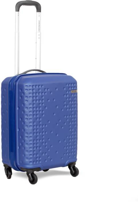 american tourister cruze cabin luggage 22 inch blue price in india. Black Bedroom Furniture Sets. Home Design Ideas