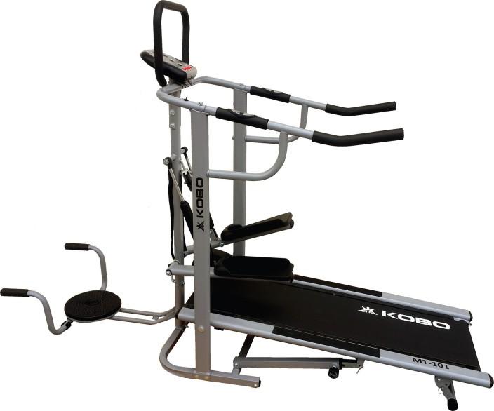 Kobo branded in jogger deluxe model for home gym treadmill