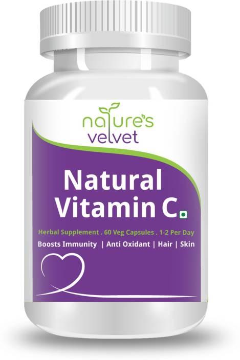 Natures Velvet Lifecare Natural Vitamin C, 500mg