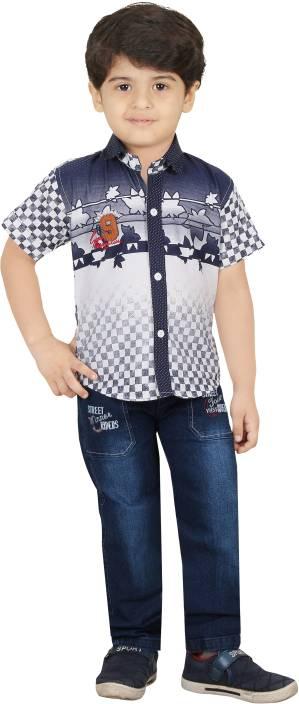 546f4137564 TITANIC-KIDS Boys Casual Shirt Pant Price in India - Buy TITANIC ...