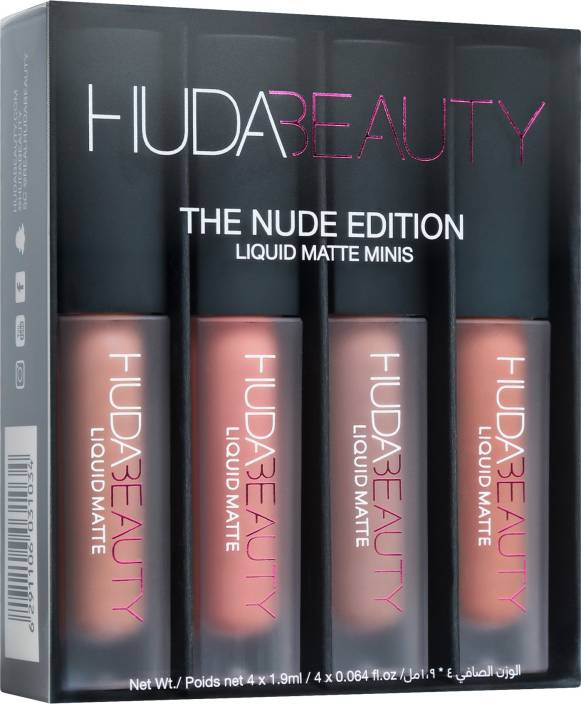 Huda Beauty LIQUID MATTE MINIS – NUDE EDITION