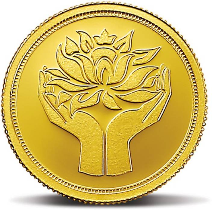 Mmtc Pamp India Pvt Ltd Lotus Series 24 9999 K 2 G Gold Coin