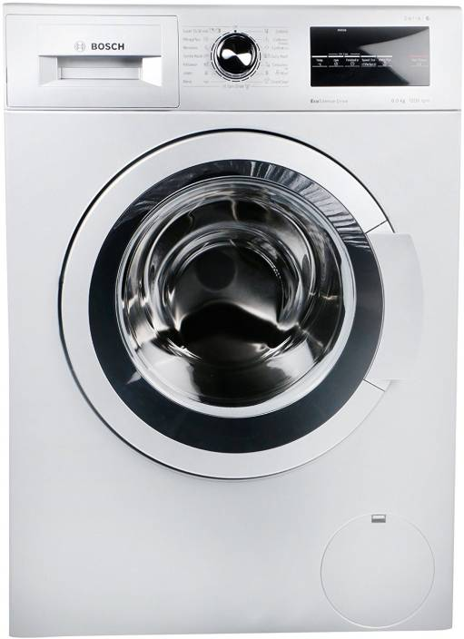 Bosch 8 kg Fully Automatic Front Load Washing Machine White