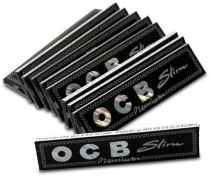 SCORIA Black Rolling Papers Booklets Assorted Hookah Flavor