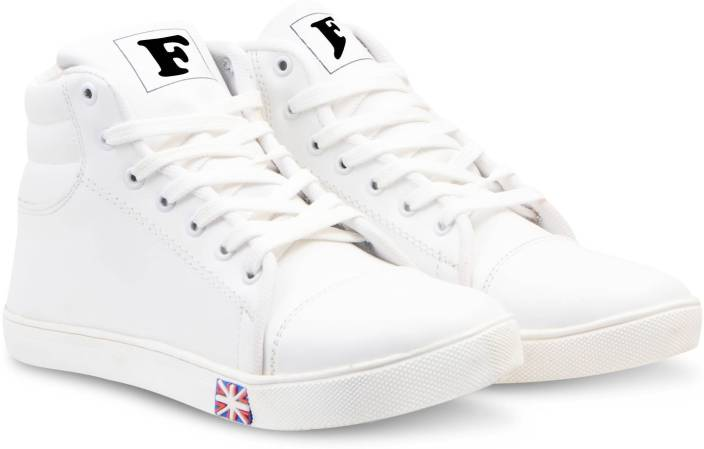 7ae181af5 Floxtar Sneakers For Men - Buy White Color Floxtar Sneakers For Men ...