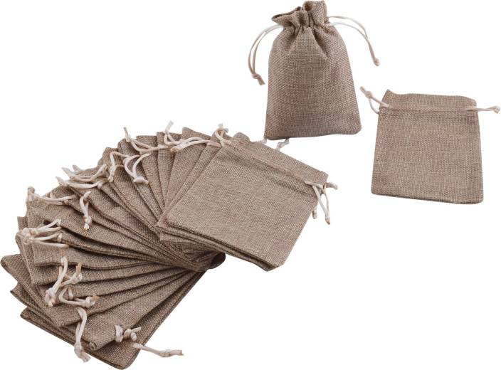 9d85378453f1 Lifekrafts Jute Bags-Pouches, 20 Pack : 15*10Cms (6*4 Inches) - Good ...