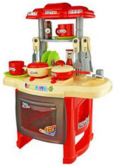 Webby Kids Kitchen Set Children Toys Large Cooking Simulation Model Play Toy For Baby