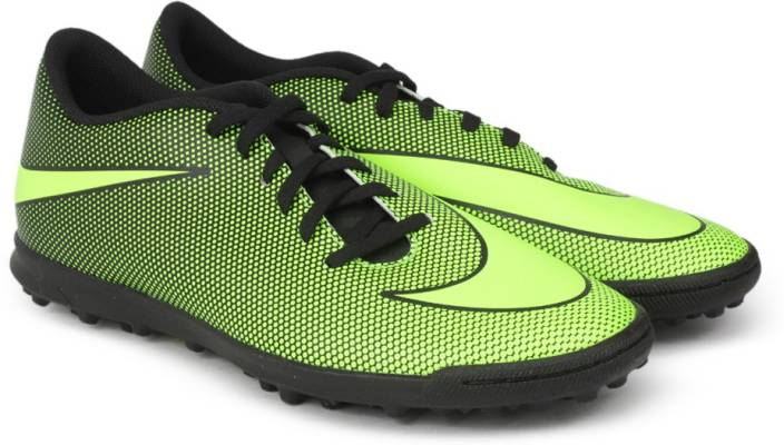 Nike BRAVATAX II TF Football Shoes For Men - Buy BLACK VOLT Color ... 2eb07f2bfc85