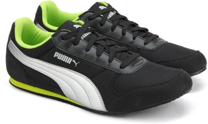 3b9114ace3d Puma Superior DP Sneakers For Men - Buy Black-Silver-Limepunch Color ...