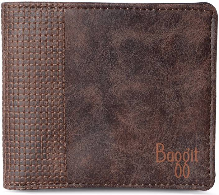 552ef88363a9f Baggit Men Brown Artificial Leather Wallet Brown - Price in India ...