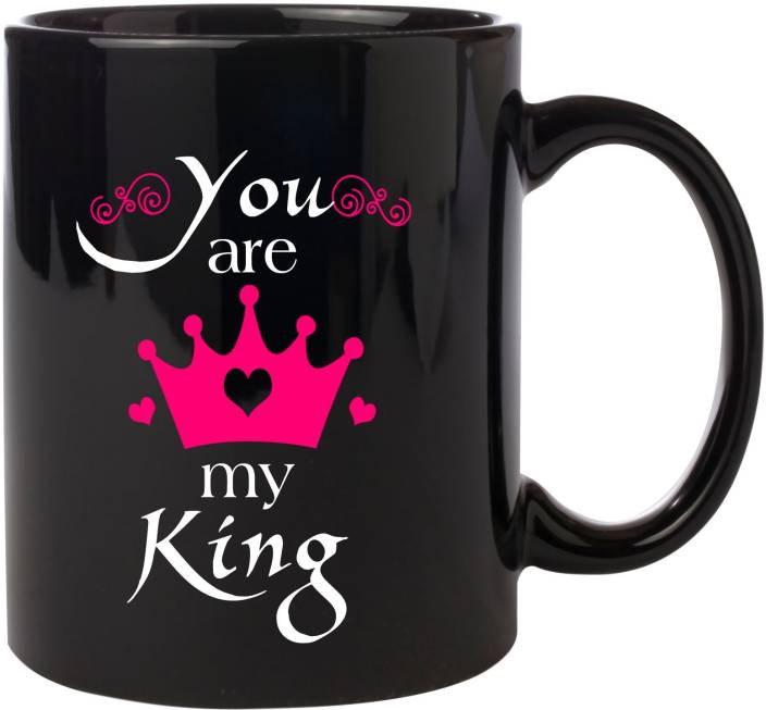 Noozarts Im Your Queen And You Are My King Quotes Lovers Gift