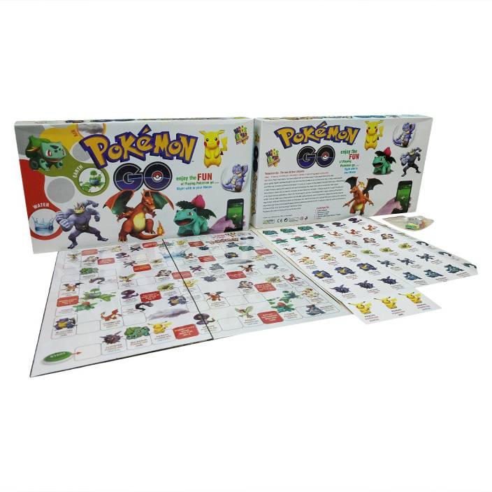 Wishkart Pokemon Go Board Game For Two To Four Players Board Game