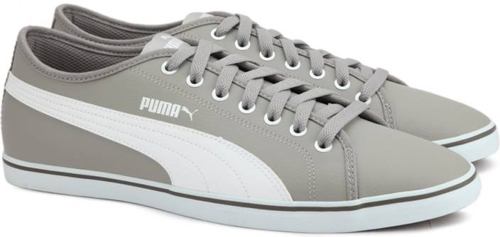 Puma Elsu v2 SL Sneakers For Men - Buy Rock Ridge-Puma White Color ... 4659c1442