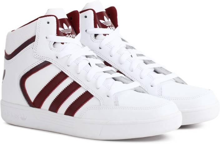 cef49f7a449 ADIDAS ORIGINALS VARIAL MID Sneakers For Men - Buy FTWWHT/CBURGU ...
