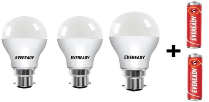 Eveready 7 W, 9 W, 12 W Standard B22 D LED Bulb